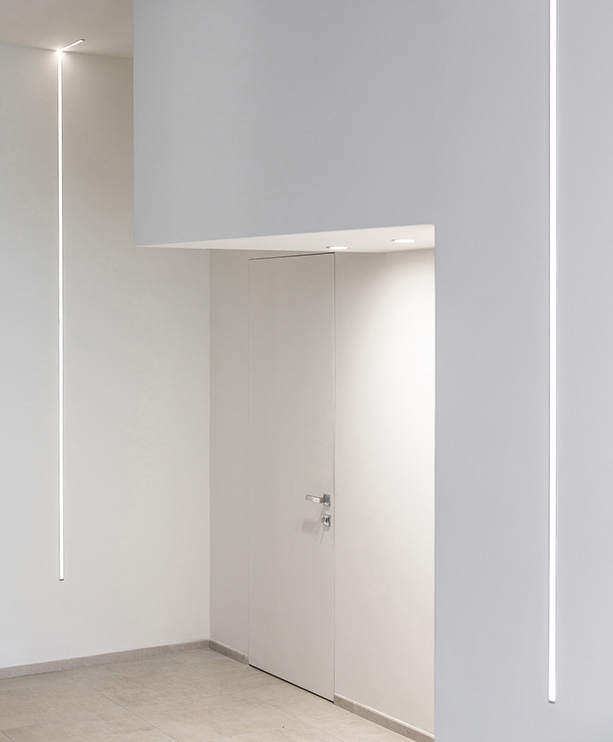 PLASTER CORNICES FOR LED